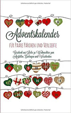 Adventskalender-Taschenbuch für Paare