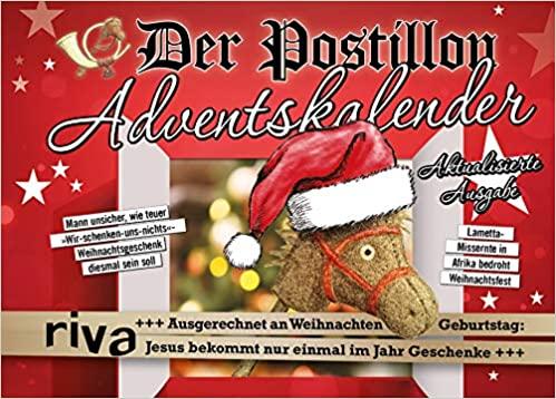 Der Postillon Adventskalender: Aktualisierte Neuausgabe