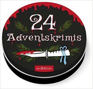 Adventskalender in der Dose (groß): 24 Adventskrimis