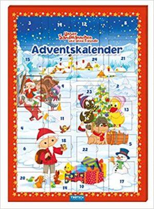 """Magnet-Adventskalender """"Unser Sandmännchen"""": mit 24 tollen Magneten"""