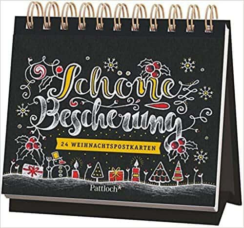 Schöne Bescherung: 24 Weihnachtspostkarten