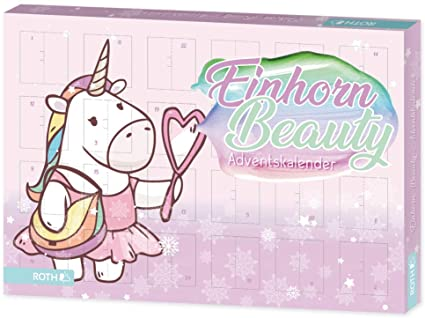 Einhorn - Beauty - Adventskalender