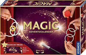 Kosmos MAGIC Zauber Adventskalender 2020, Spannende Zaubertricks und Zauber-Utensilien für die Adventszeit, Spielzeug-Adventskalender zum Zaubern für Kinder ab 8 Jahre