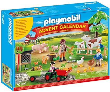 playmobil auf dem bauernhof adventskalender 2019