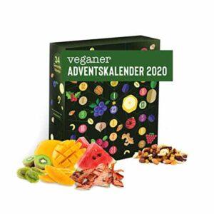 Veganer Adventskalender (Süßigkeiten ohne Schoki)