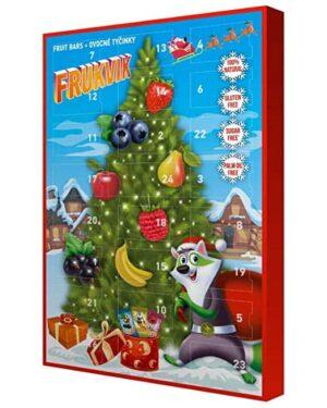 Adventskalender Frukvik mit 24 Mini-Obstriegel