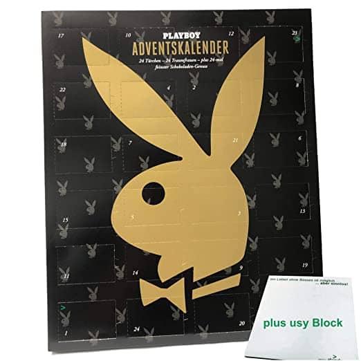 Playboy Adventskalender mit feinster Schokolade