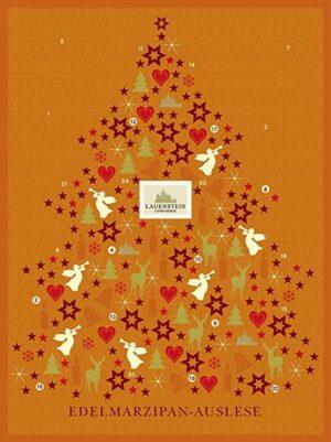Adventskalender mit Lauensteiner Marzipan