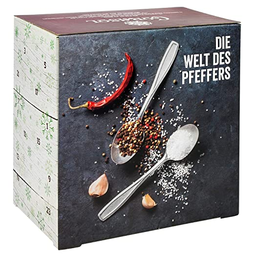 Corasol Premium Salz & Pfeffer Adventskalender