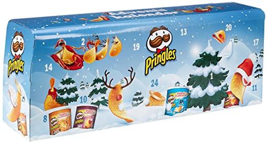 Pringles Chips-Adventskalender