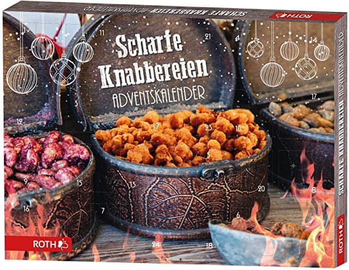 ROTH Scharfe Knabbereien-Adventskalender