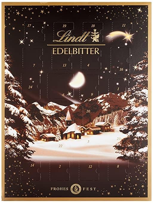 Lindt & Sprüngli Edelbitter Adventskalender