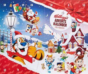 Frühstücks-Adventskalender von Kelloggs