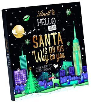Lindt HELLO Adventskalender - Santa is on his way to you