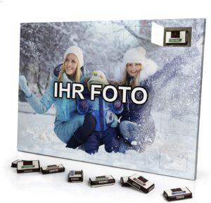 Foto Adventskalender mit eigenem Bild personalisiert - mit Sarotti Schokolade