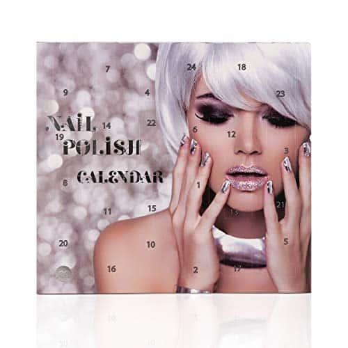 Beauty-Adventskalender Nagellack, 24 top Farben im Nagellack Adventskalender