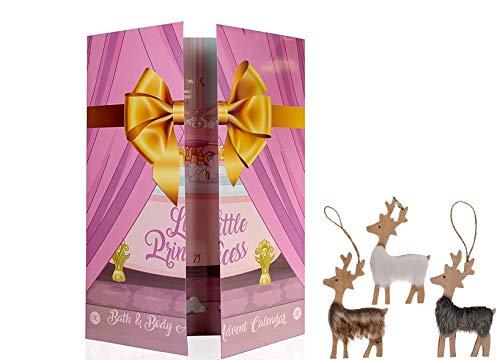 Wellness Beauty Prinzessin Adventskalender Weihnachtskalender für Mädchen