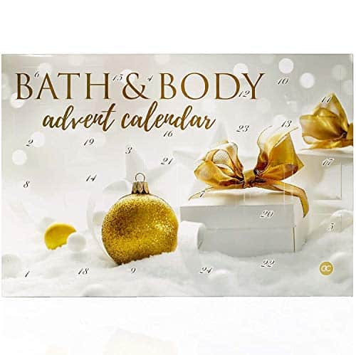 Adventskalender Kosmetik für Sie - Damen Wellness Weihnachtskalender mit 24 Überraschungen