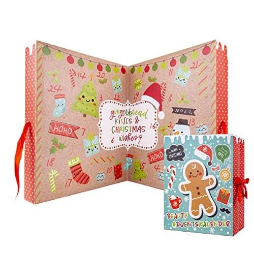 Accentra Xxl Beauty Adventskalender Gingerbread- Weihnachtskalender Für Frauen Und Kinder