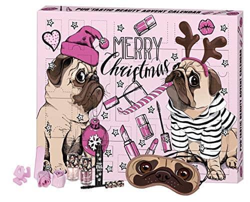FESH! Pug'tastic Beauty Advent Calendar - Kosmetik-Adventskalender mit niedlichem Mops