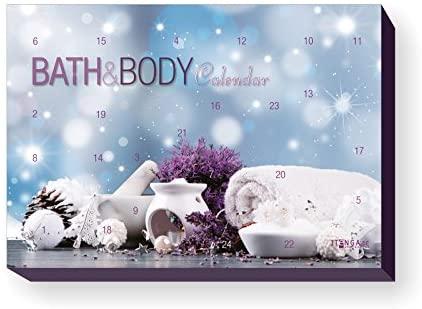 itenga Adventskalender Bath Body Motiv Spa Wellness Bad und Body Beauty Entspannung