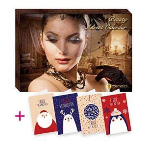 Accentra Adventskalender gefüllt für Frauen Beauty Schminke