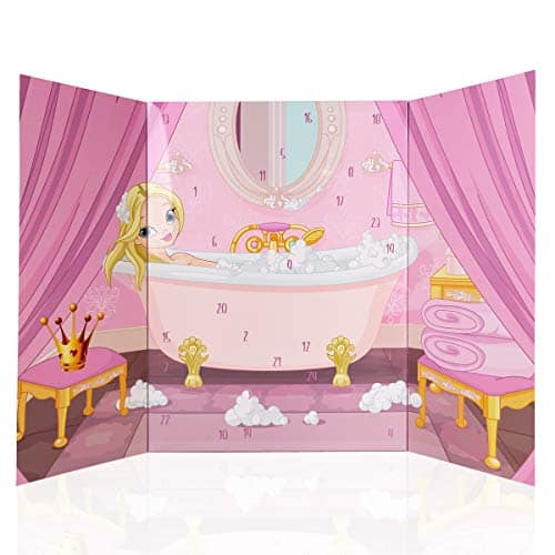 Accentra Prinzessin Adventskalender Für Mädchen Mit 24 Bade- Und Körperpflege