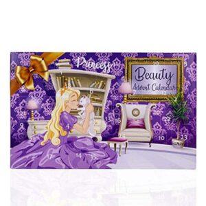 Accentra Prinzessin Adventskalender Für Mädchen Mit 24 Make-Up, Beauty, Kosmetik