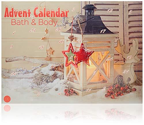 Accentra Adventskalender Beauty mit 24 Körperpflege & Badespaß