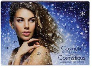 Geschenkbox Glamour Girl Adventskalender für Frauen mit Beauty-Produkten und Utensilien
