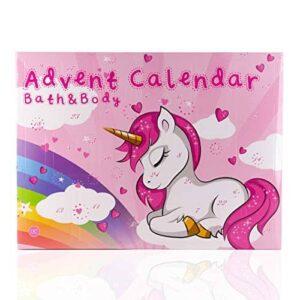 Accentra Beauty-Adventskalender Unicorn für Frauen, Mädchen