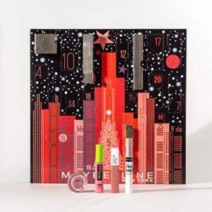 Maybelline New York Adventskalender mit Kosmetik hinter 24 Türchen Beauty Adventskalende