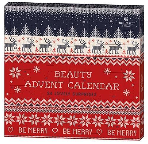 Boulevard de Beauté 24 Beauty Days - der Beauty-Adventskalender im weihnachtlichen Strick-Design