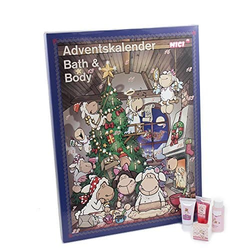 Accentra Adventskalender Beauty, 24 Advents-Überraschungen aus dem Körperpflege & Badespaß Bereich