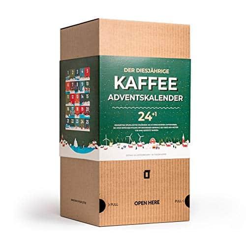 Kaffee Adventskalender mit 25 innovativen Coffeebrewer-Kaffeetaschen – Perfektes Weihnachtsgeschenk und Adventskalender für Erwachsene (MEHRWEG)
