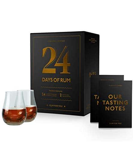 24 Days of Rum der Original-Rumkalender Adventskalender 2020 – detail 1