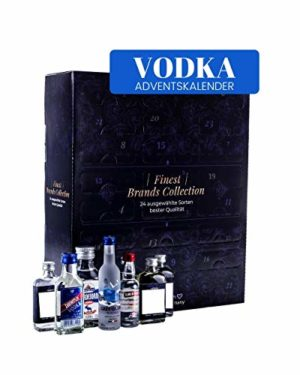 Vodka Adventskalender 2020 I Wodka Adventskalender I Alkoholkalender I Vodka Weltreise I unterschiedliche Vodkasorten I Importierter Vodka für Erwachsene I Geschenkidee für Männer Frauen