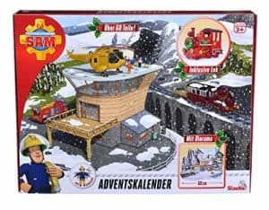 amazon Simba Feuerwehrmann Sam Adventskalender 2018