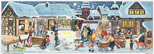 Weihnachten auf dem Land Papieradventskalender