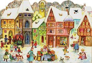 Papieradventskalender Altstadtszene