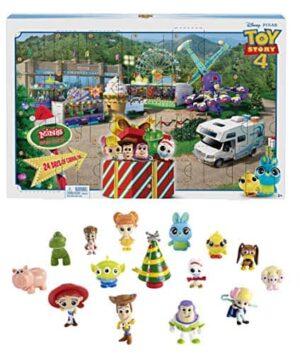 Mattel GKT88 Toy Story 4 Minis Adventskalender für Kinder mit exklusiver Spielzeugfigur ab 3 Jahren – Toy Story – detail 2
