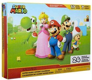 World of Nintendo 403012 Super Mario Adventskalender
