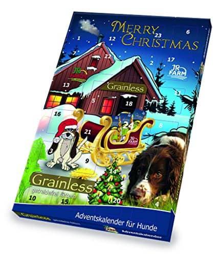 JR Farm Adventskalender groß für Hunde getreidefrei A3
