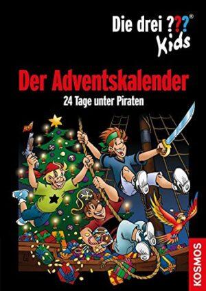 Die drei Fragezeichen Kids Adventskalender - 24 Tage unter Piraten
