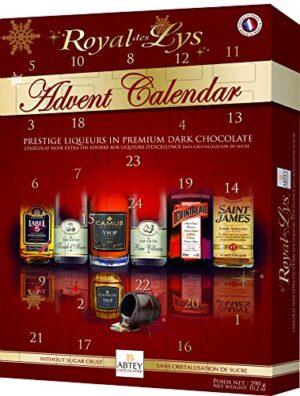 Abtey Chocolatier Royal des LYS Adventskalender 290g