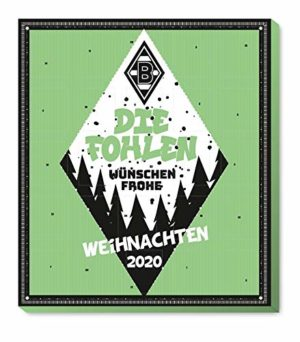 Borussia Mönchengadbach - M´Gladbach - Adventskalender 2020 - Weihnachtskalender Premium mit Poster - Kalender - Bundesliga - Fußball - (7,95 € /100 g)