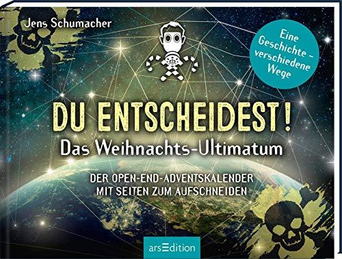Du entscheidest! Das Weihnachts-Ultimatum. Das Original: Der Open-end-Adventskalender von Jens Schumacher - für alle Fans von Escape-Spielen