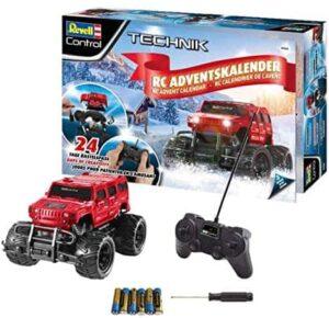 Adventskalender RC Offroad-Truck, mit Fernsteuerung und Batterien