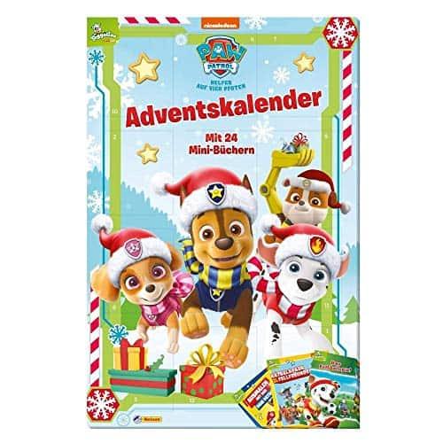 Paw Patrol Minibuch-Adventskalender 2019