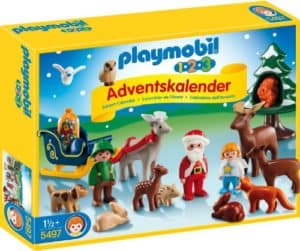 Waldweihnacht 1-2-3 playmobil Adventskalender 2014